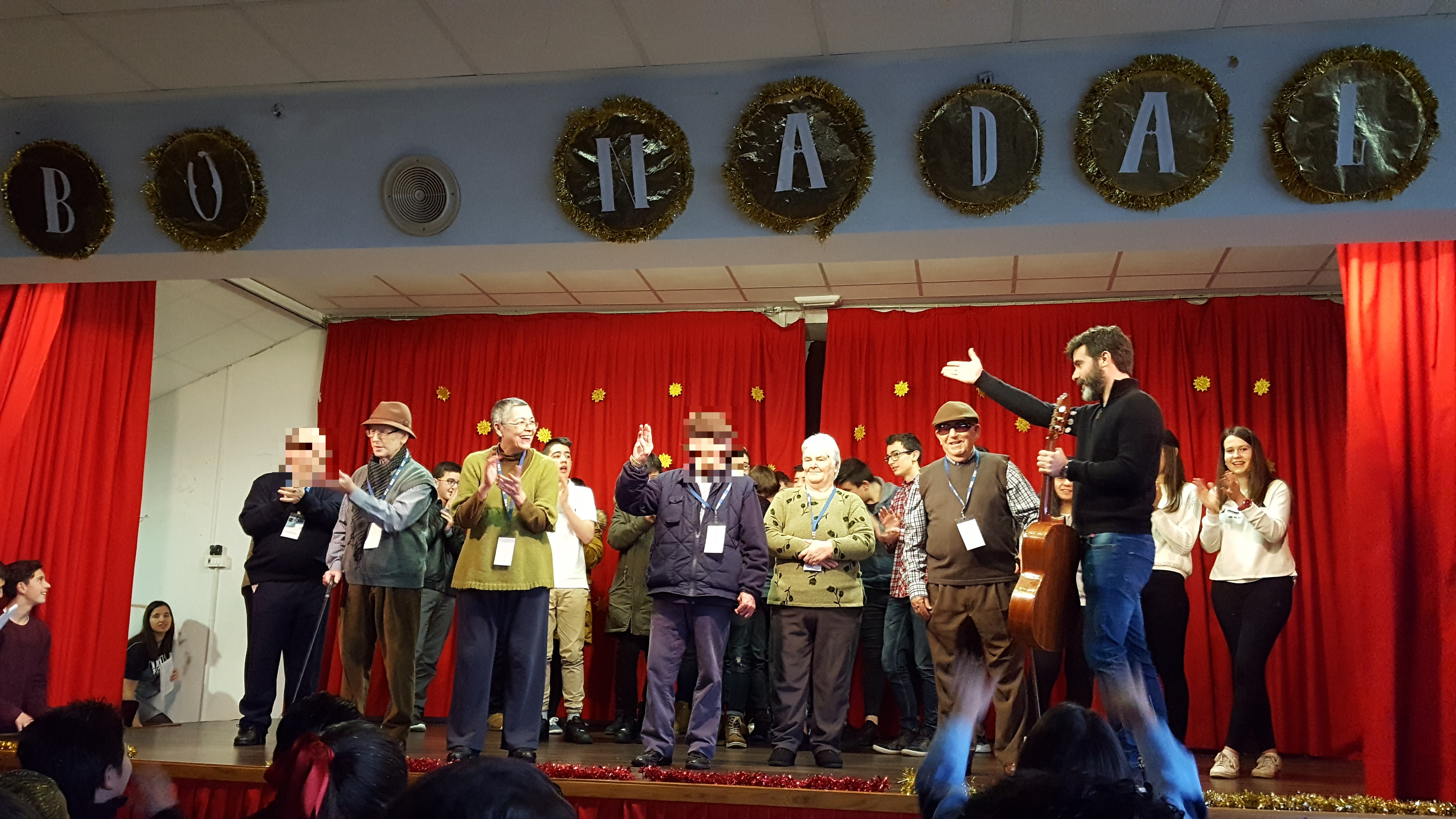 Actuación Festival Colegio San Francisco Javier