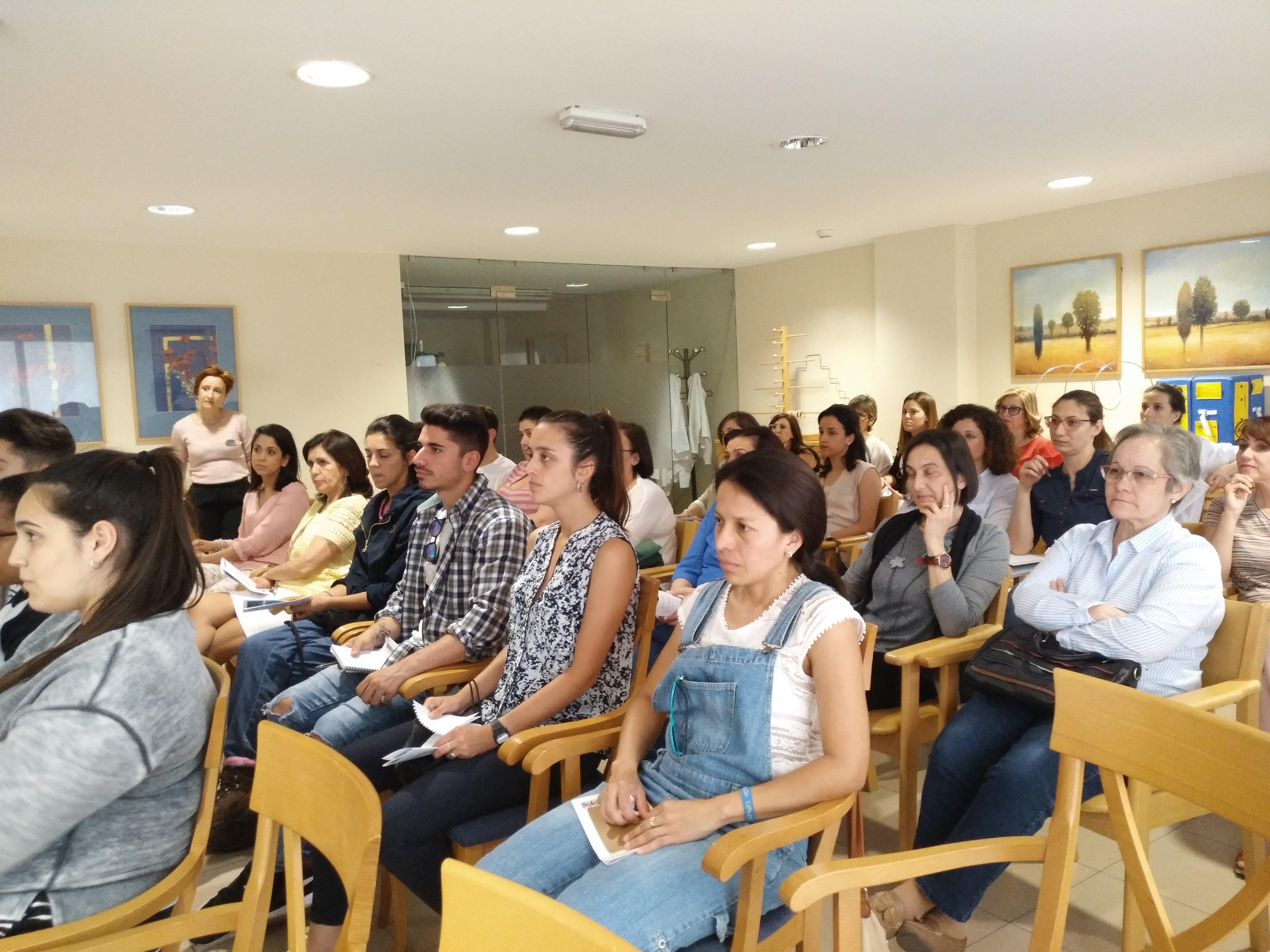 Presentación Badajoz Contigo en SARquavitae C Badajoz