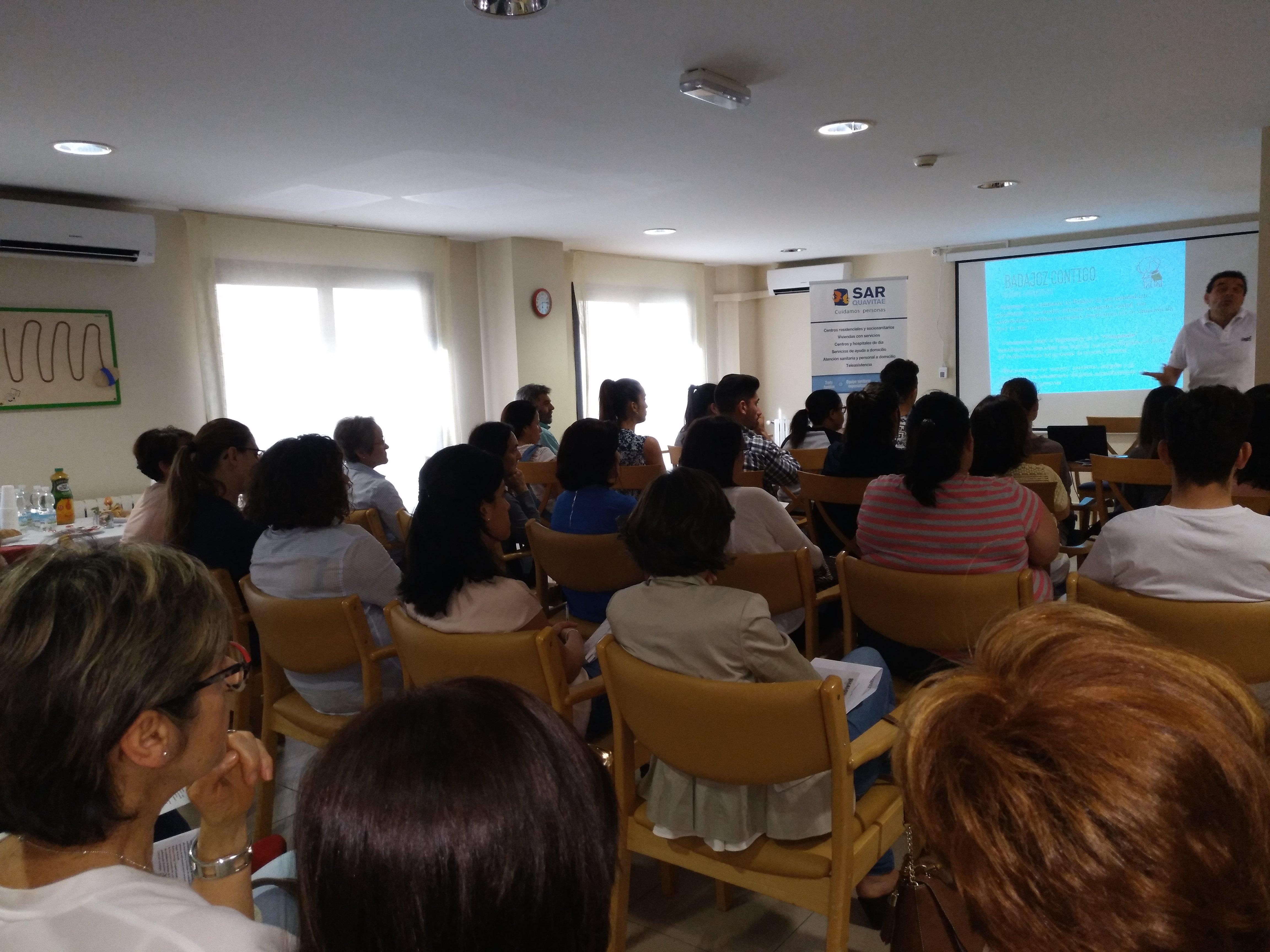 Presentación Badajoz Contigo en SARquavitae C Badajoz5