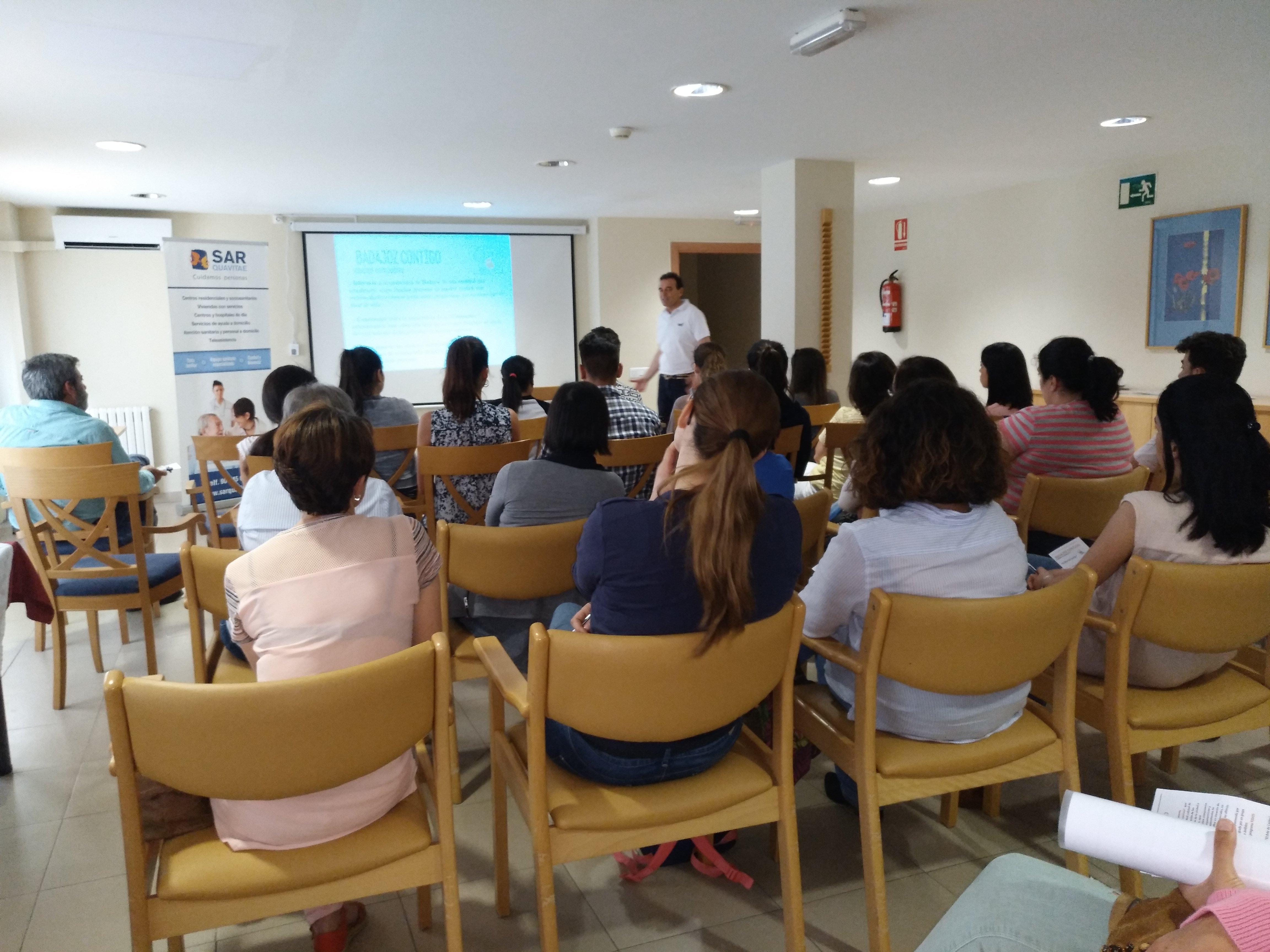 Presentación Badajoz Contigo en SARquavitae C Badajoz6