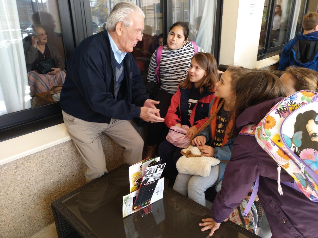Un abuelo un amigo Badajoz primer encuentro4