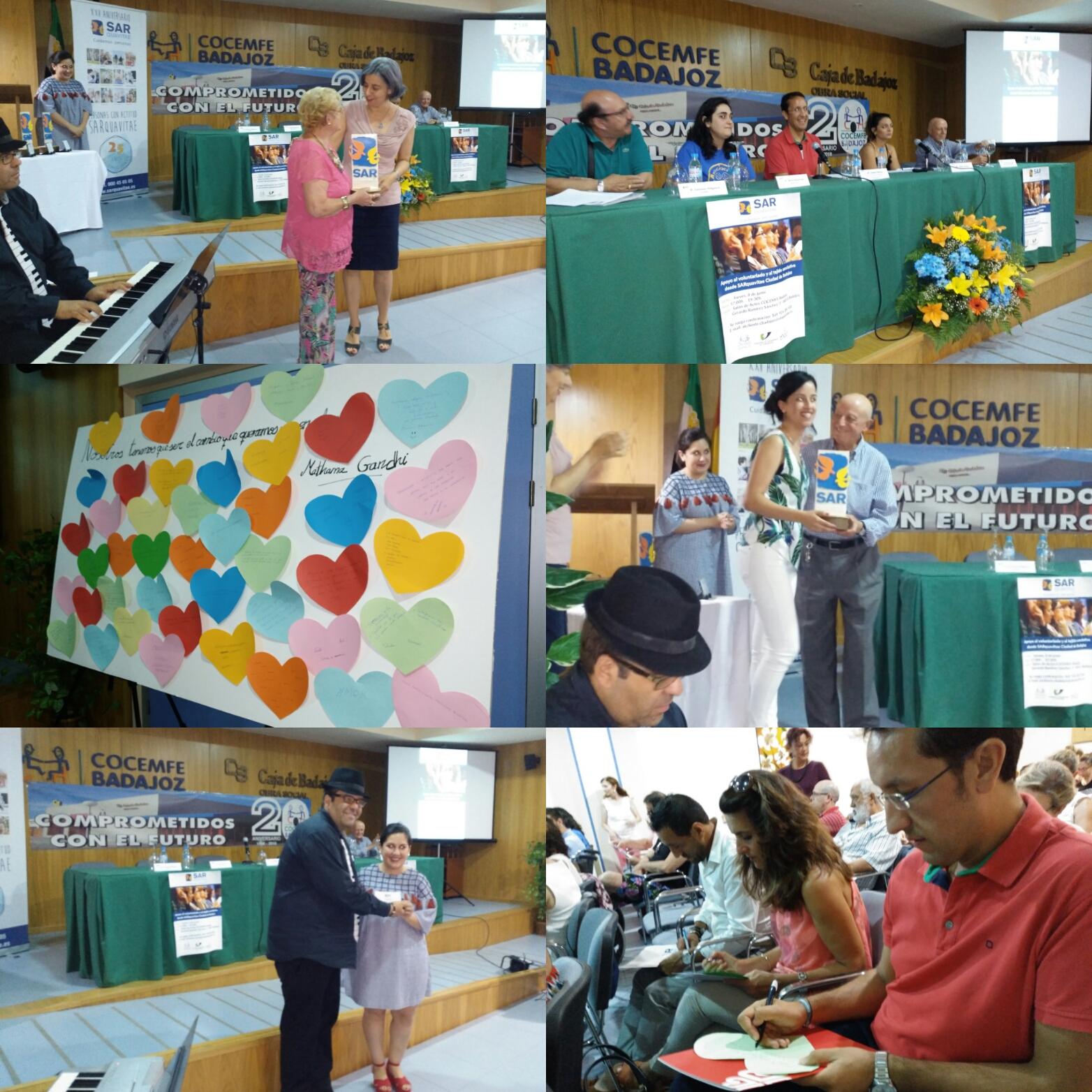 Jornada de apoyo al voluntariado y al tejido asociativo desde SARquavitae Ciudad de Badajoz