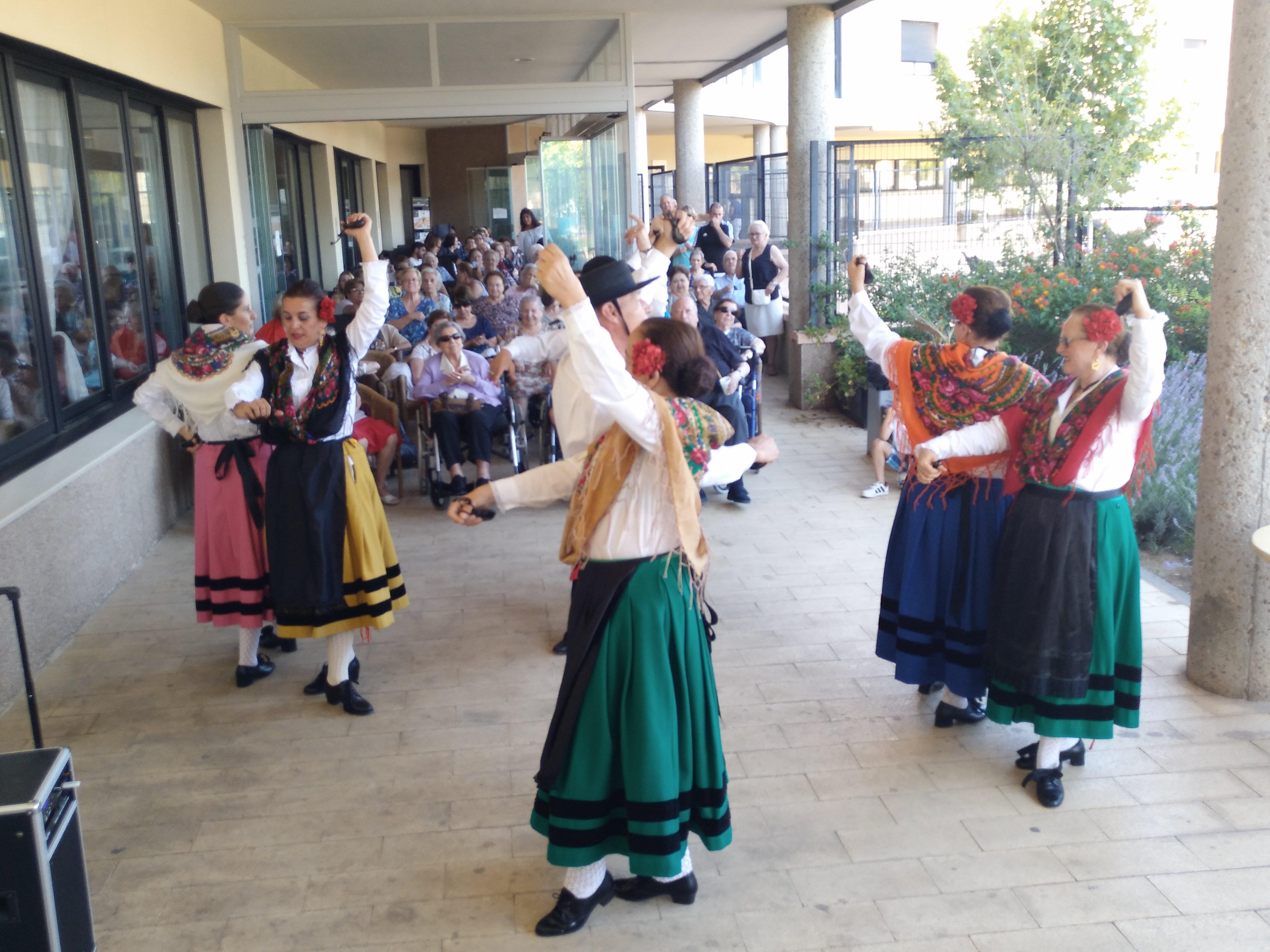 Folklore extremeño en SARquavitae Ciudad de Badajoz