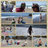 Actividad de playa