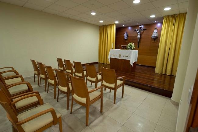 DomusVi Oleiros capilla