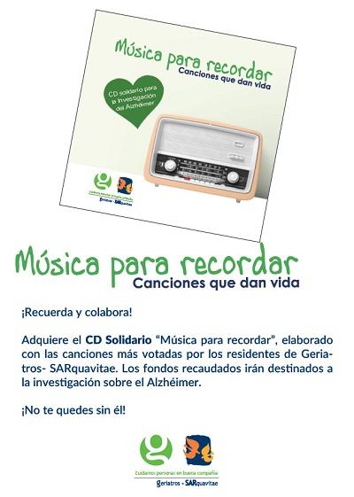 Promoción CD Música para Recordar SARquavitae San Lázaro