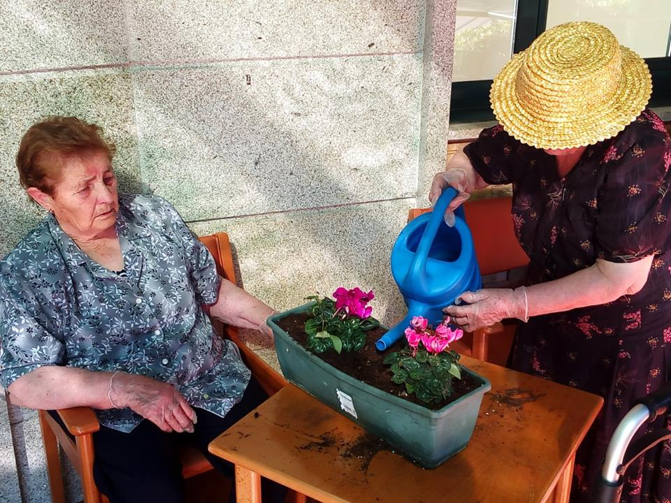 face geriatros lalín taller jardinería
