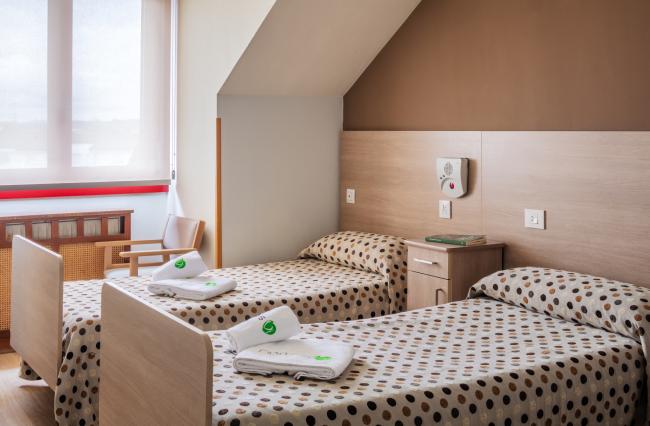 Residencia mayores Colloto habitació