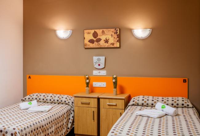 Residencia mayores Carancos habitación doble
