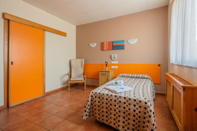 Residencia mayores Carancos habitación individual