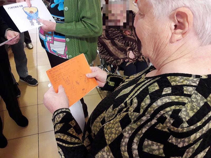 Tarjetas de Navidad Peleteiro Residencia DomusVi San Lázaro