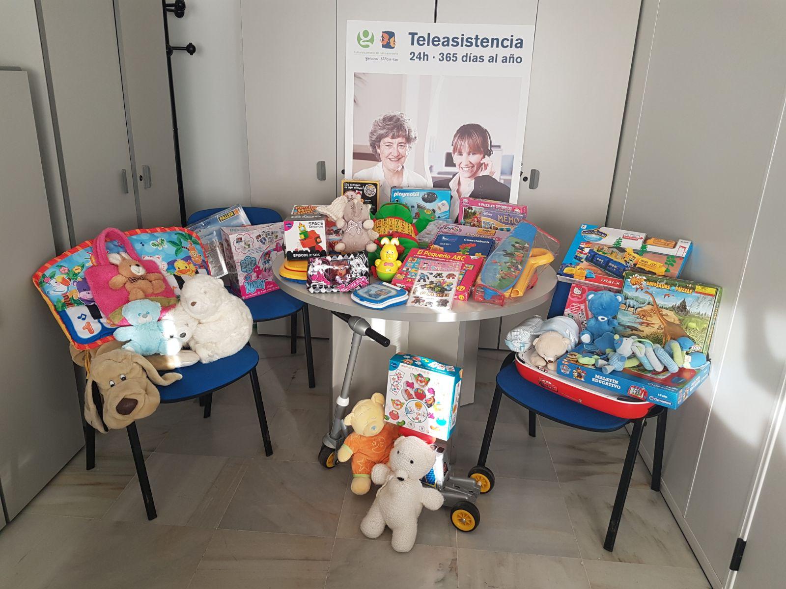 Asociaciones de recogida de juguetes en madrid
