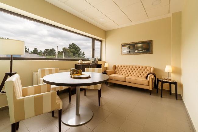 Residencia Ourense Barbadás Sala de atención al cliente