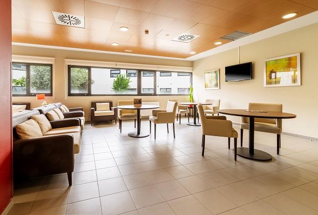 Residencia Ourense Barbadás Sala de estar