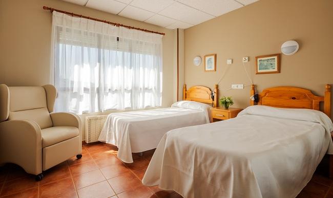 Residencia de mayores Palacio de Caldones Asturias Habitación Doble