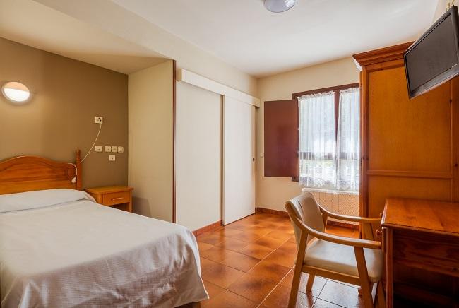Residencia de mayores Palacio de Caldones Asturias Habitación