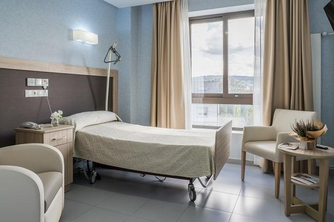 Residencia mayores Narón Coruna habitación individual