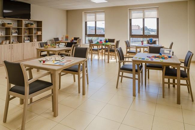 Residencia mayores Narón Coruna sala de terapias