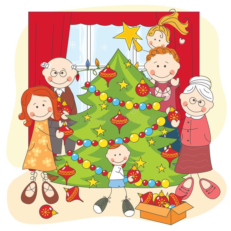 big-happy-family-dress-up-christmas-tree-27957219
