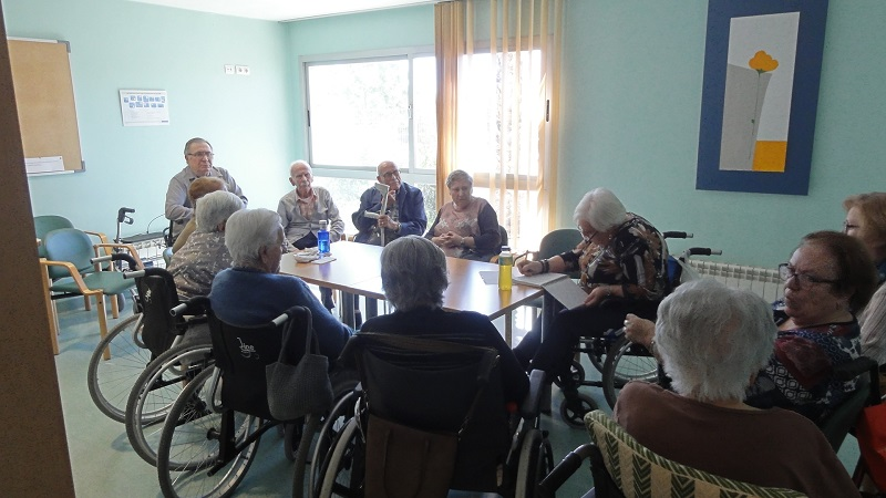 Consejo de mayores Reunión grupo