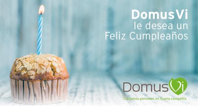 DomusVi Lalín celebración cumples Marzo