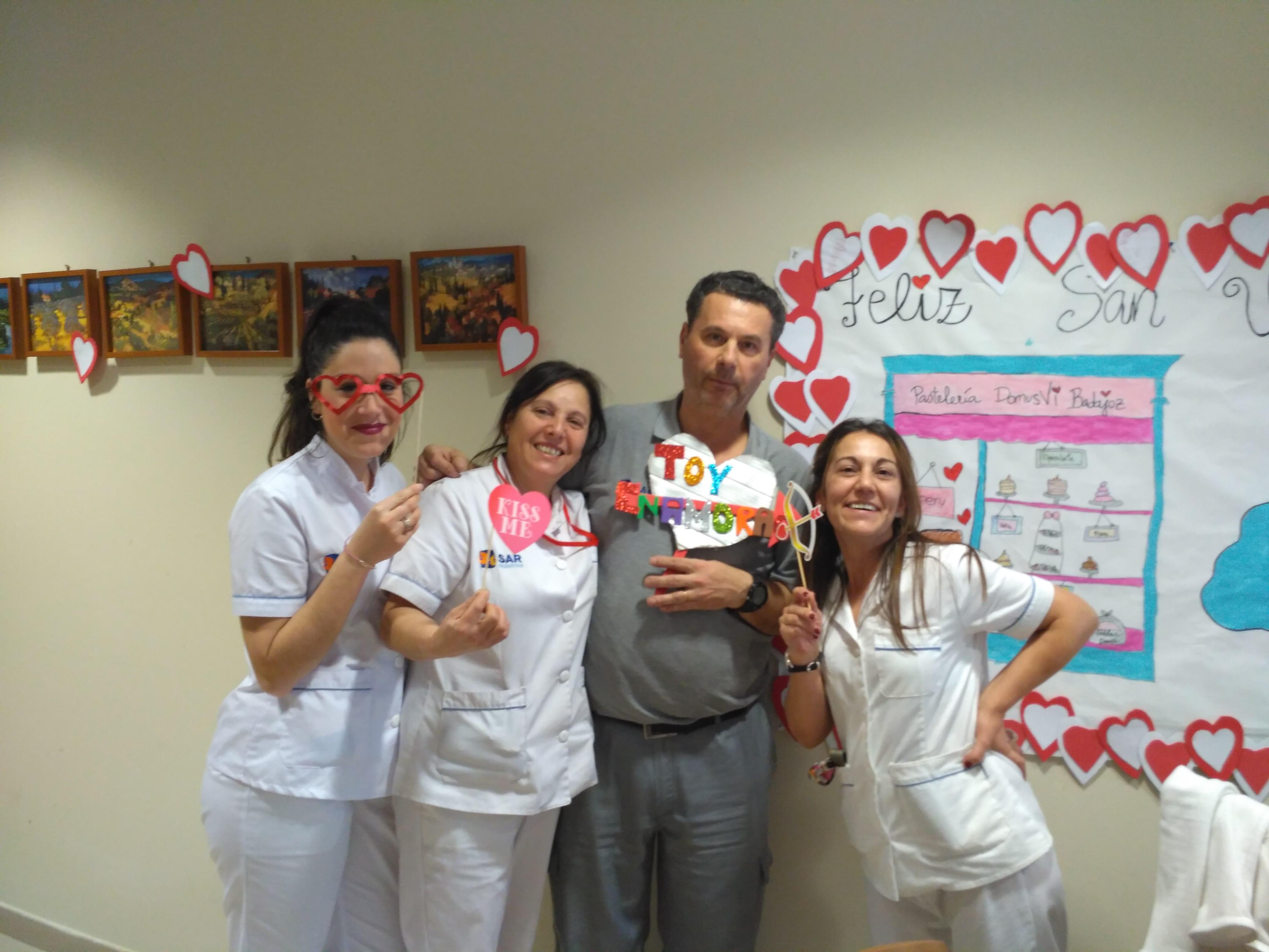 Bingo especial San Valentin DomusVi C Badajoz