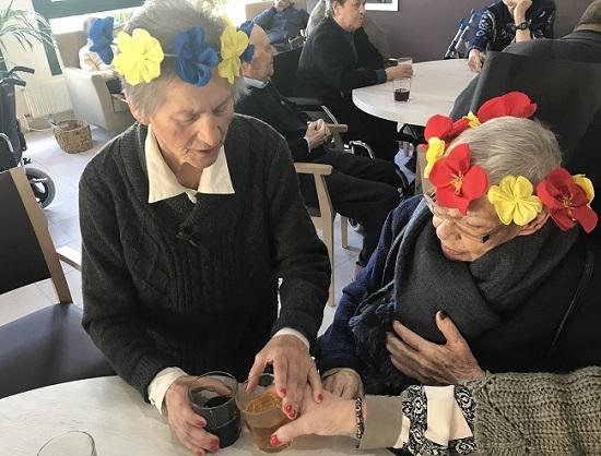 """""""DomusVi"""", """"DomuVi Ribadumia"""", """"Residencia de personas mayores"""", """"geriátrico"""",  """"primavera"""""""