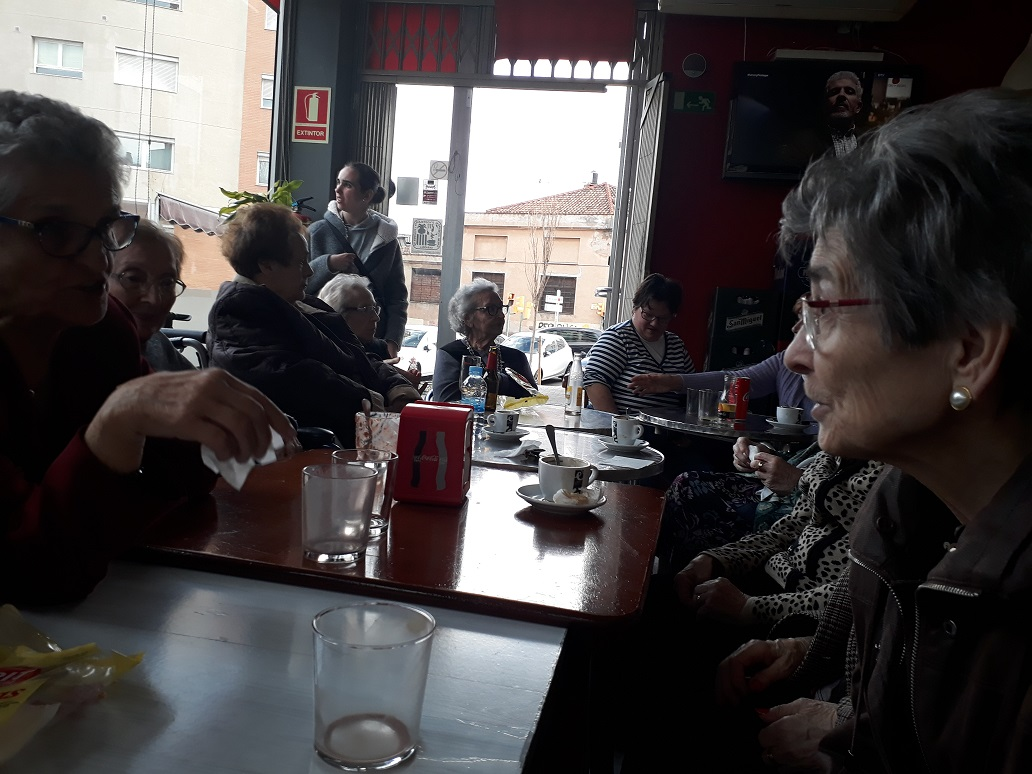 Merienda DomusVi Sabadell