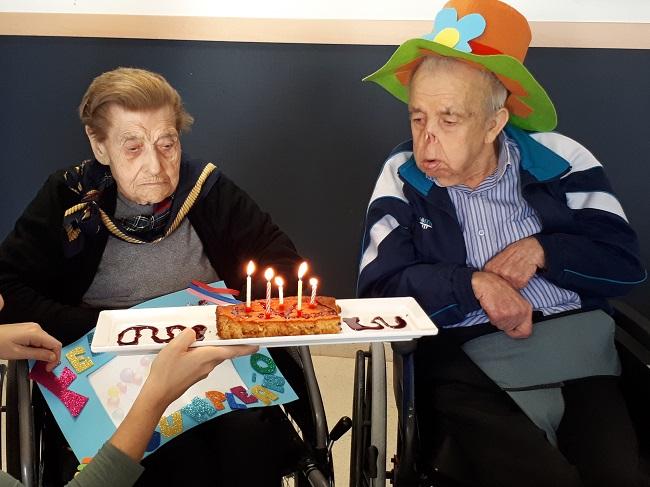 Cumpleaños mayores DomusVi Remedios