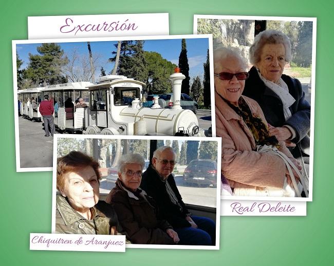 Excursión chiquitren Aranjuez