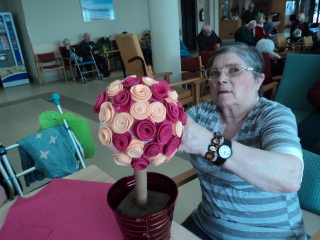 bouquette de rosas