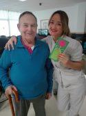 En la residencia también celebramos el día de la mujer obsequiando a nuestras trabajadoras con regalitos hechos por los residentes