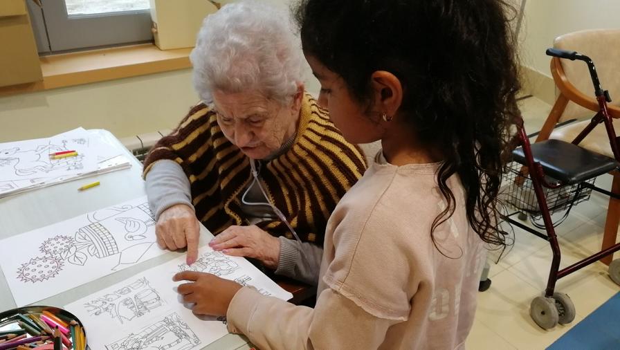 actividad intergeneracional