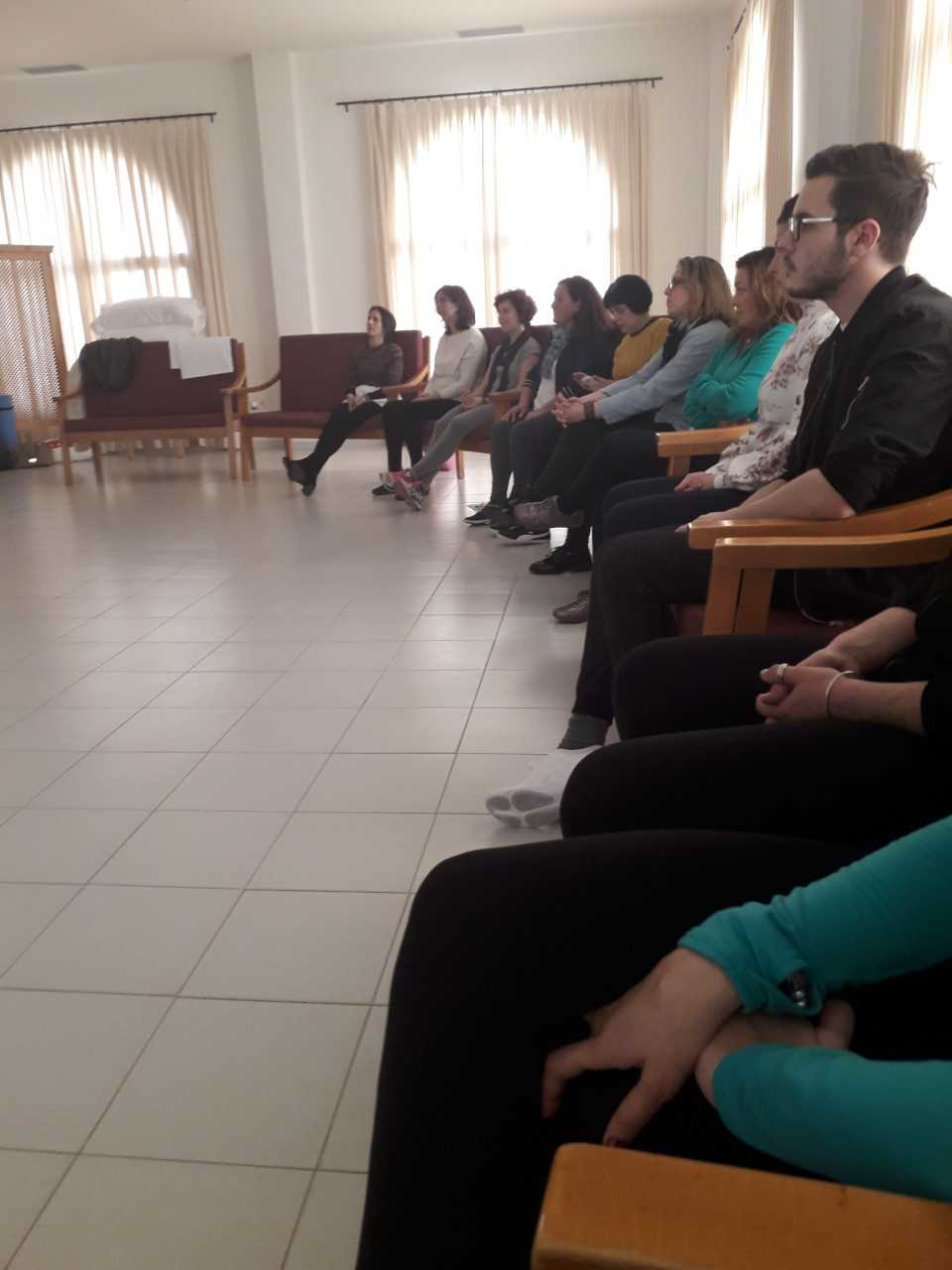 mindfulness taller residencia mayores tharsis