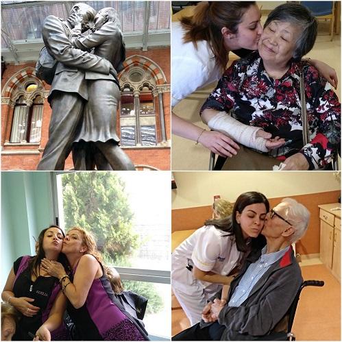 Collage Día del Beso - DomusVi Babel 4