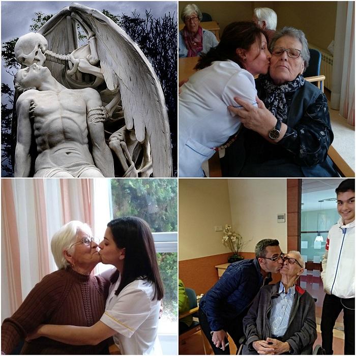 Collage Día del beso - DomusVi Babel 2