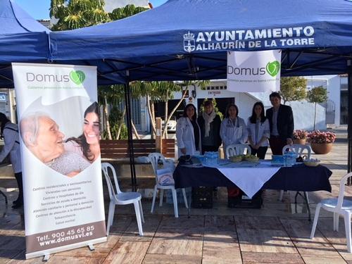 Dia Mundial de la salud Residencia Domusvi Fuentesol