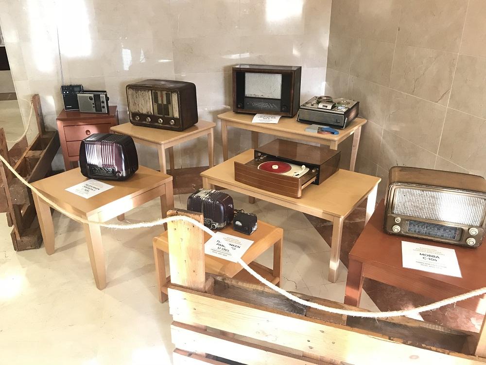 Exposición Radios Antiguas