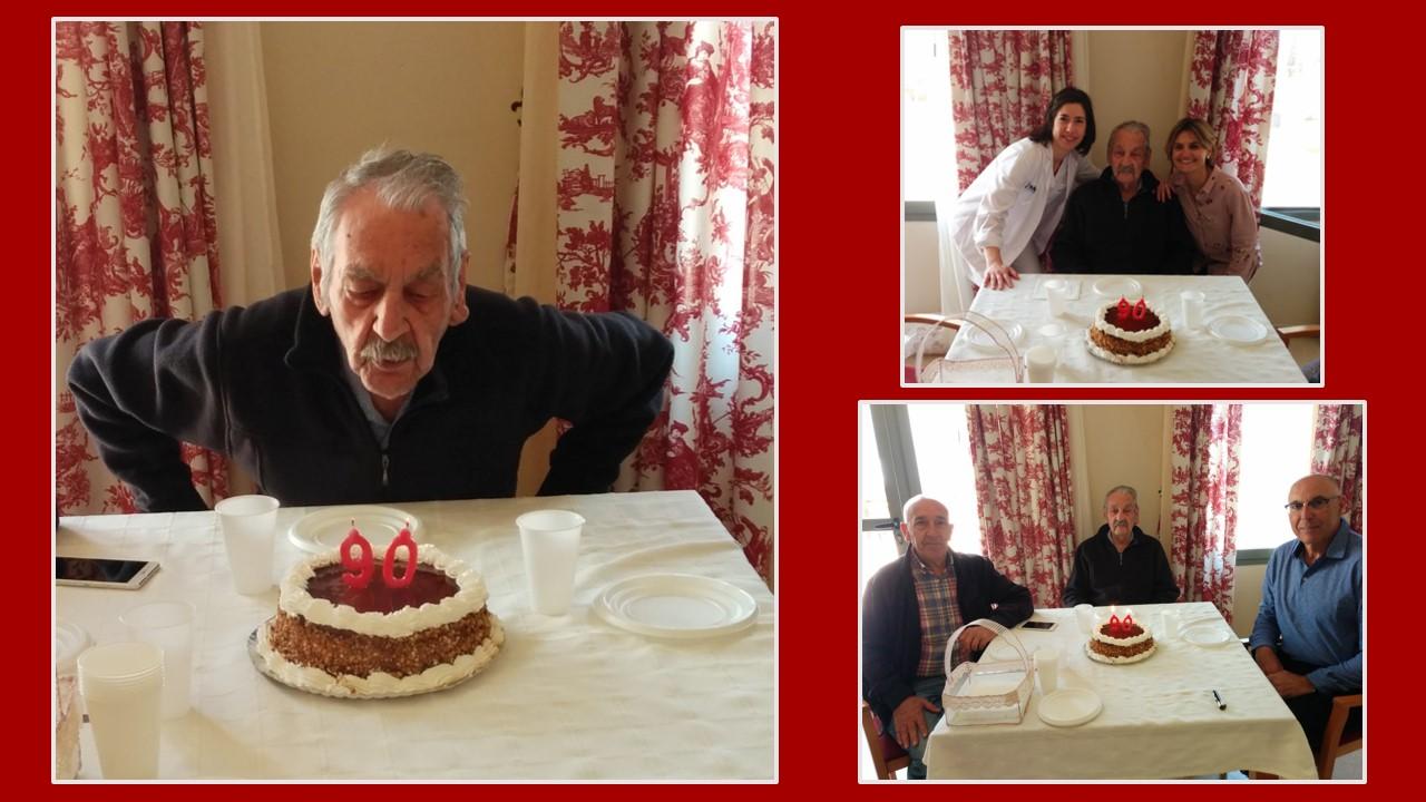 90 años