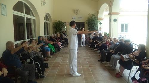 Trabajando la salud en residencia de mayores Domusvi Fuentesol