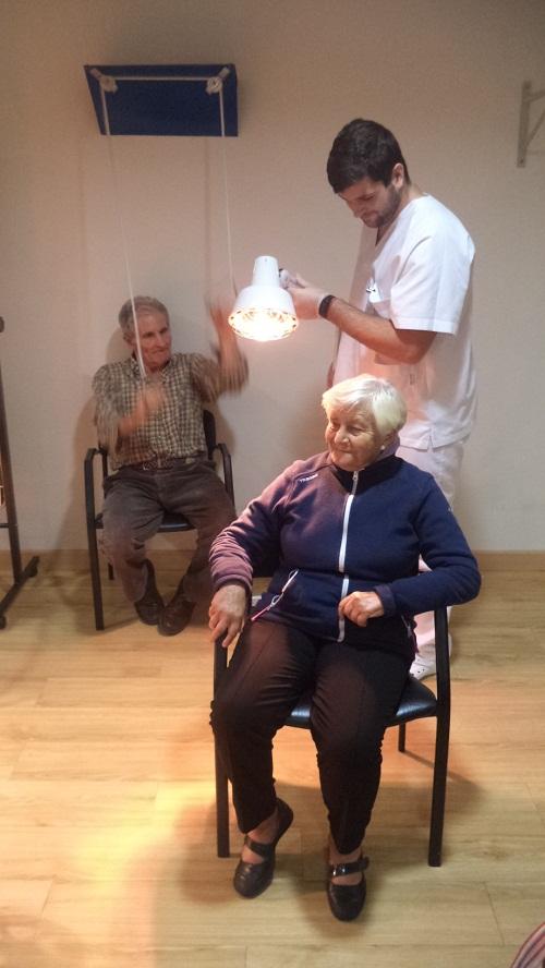 la fisioterapia y los mayores