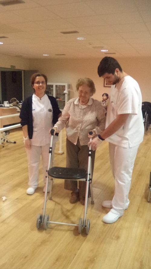 rehabilitacion de mayores con la universidad de Málaga