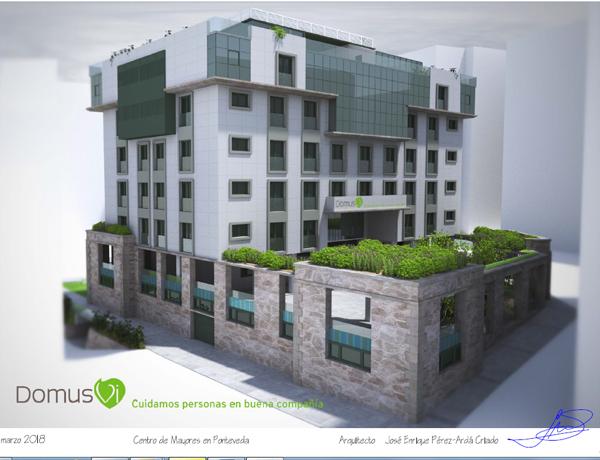 centro residencial en Pontevedra