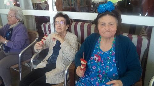 vida saludable en residencia de ancianos