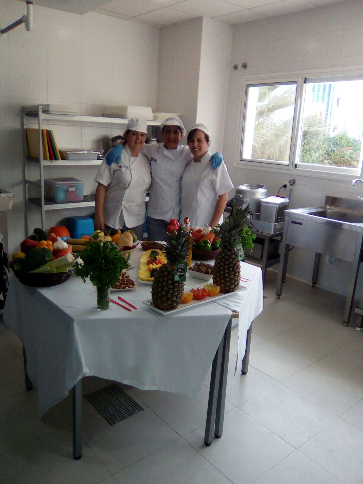 Cocineras DomusVi Remedios