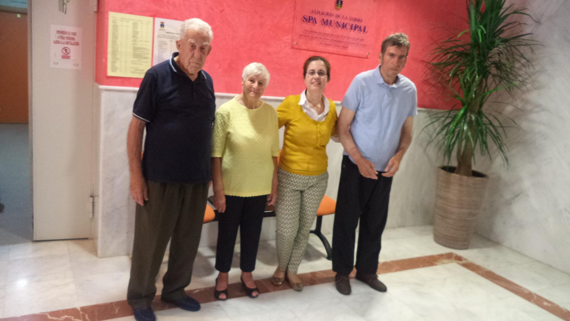 Fisioterapia y spa residencia de mayores