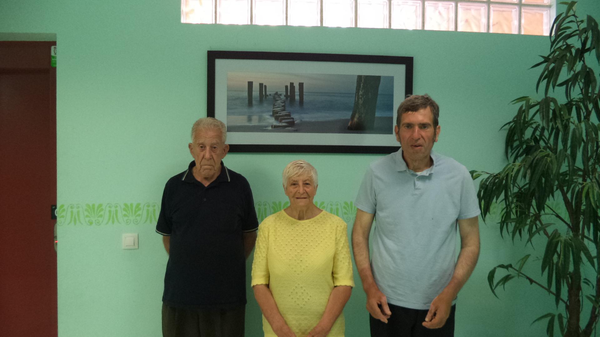 residentes de Domusvi Fuentesol en el spa  de Alhaurin de la Torre