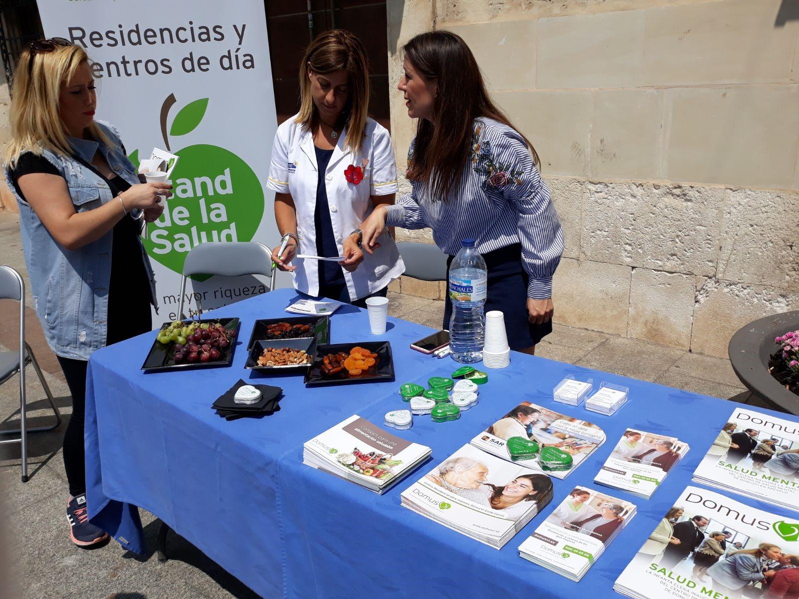 DomusVi informa sobre hábitos saludables
