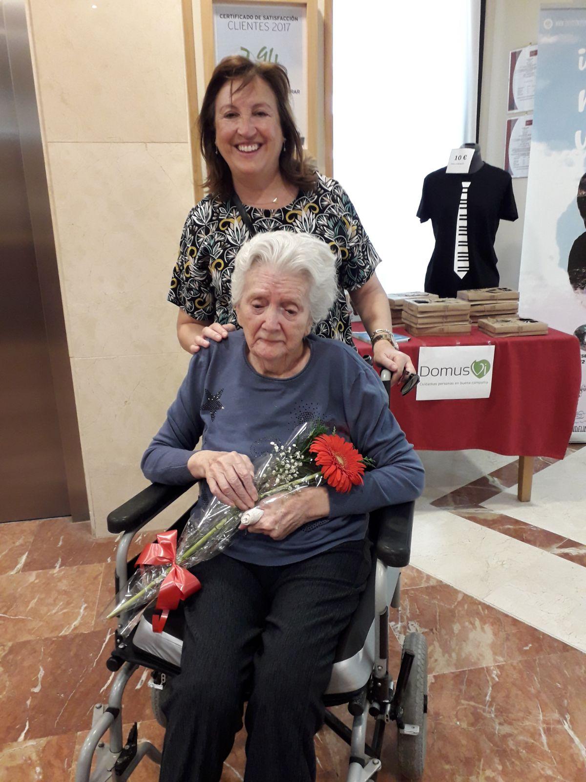 Dia de la madre residencia mayores DomusVi Ciudad Badajoz