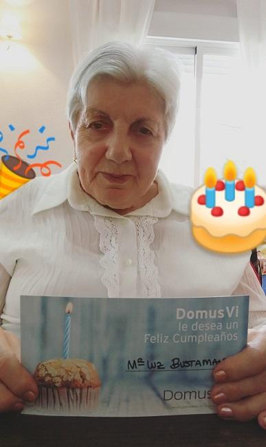 DomusVi Conde de Orgaz Cumpleaños